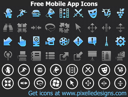 Free Phone App Icons 2013 full