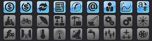 iOS Tab Bar Icons