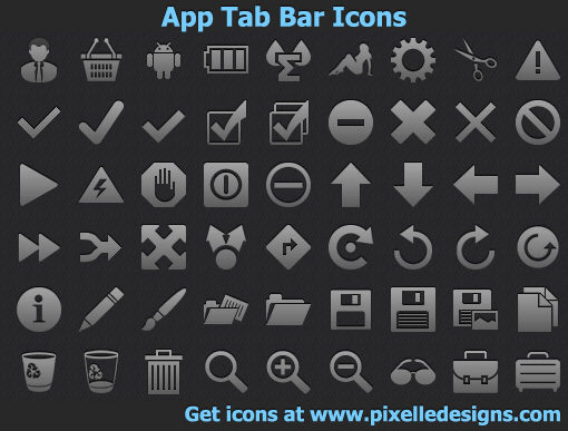 App Tab Bar Icons