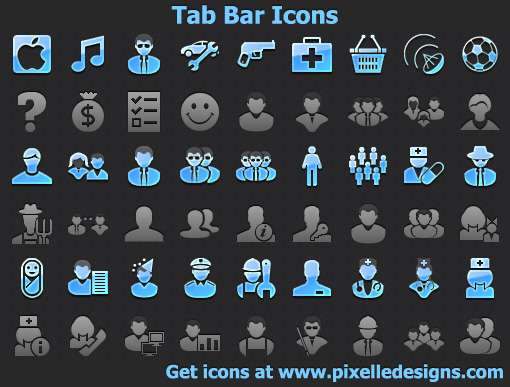 Windows 7 Tab Bar Icons 2013.1 full